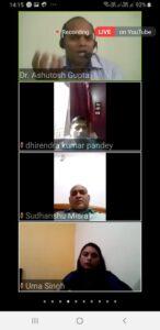 अंतरराष्ट्रिय वेबिनार कोविड-19 के परिप्रेक्ष्य में गीता-दर्शन