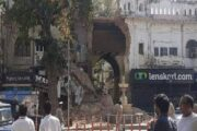 लखनऊ:जल्द तामीर होगा इमामबाड़ा सिब्तैनाबाद का टूटा हुआ मुख्य द्वार